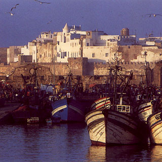The Medina Viewed From The Port
